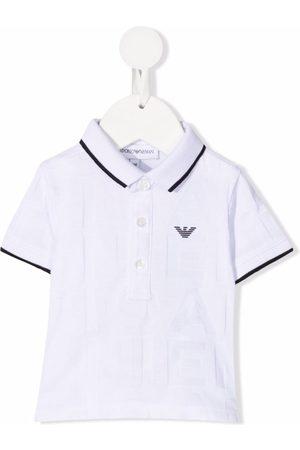 Emporio Armani Poloshirts - Poloshirt mit Logo-Patch