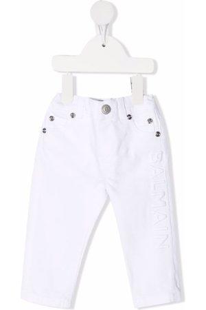 Balmain Jeans mit Logo-Stickerei