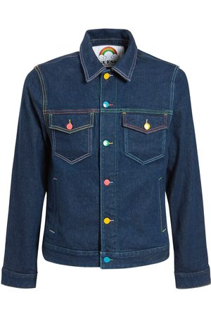 GUESS X FRIENDSWITHYOU Fwy Capsule Logo Denim Jacket