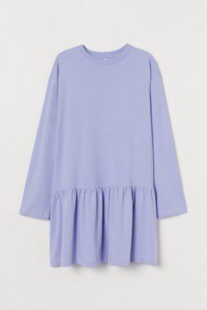 H&M Damen Freizeitkleider - Kleid aus Baumwolljersey