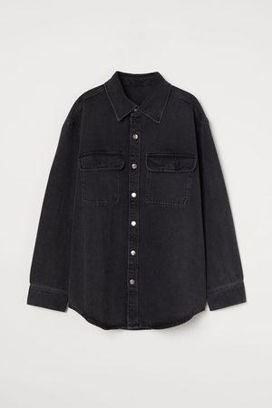 H&M Blusenjacke aus Denim