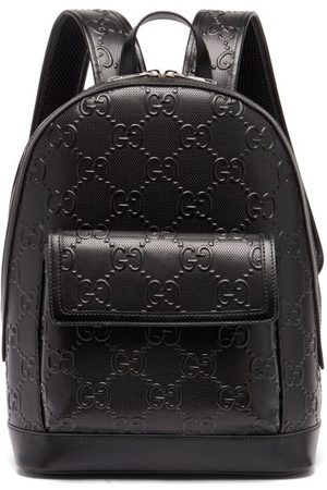 Gucci Gg Tennis Leather Backpack
