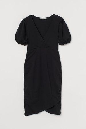 H&M MAMA Wickelkleid aus Baumwolle