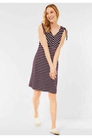 Cecil Damen Bedruckte Kleider - Sommerkleid mit Streifen Muster