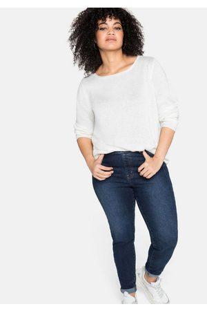 Sheego Stretch-Jeans mit Schlupfbund