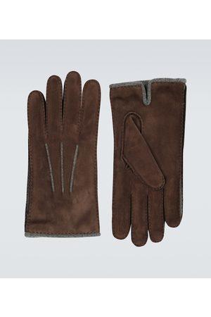 Loro Piana Handschuhe aus Veloursleder