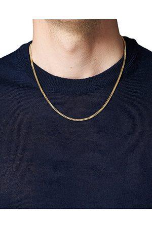 TOM WOOD Herren Halsketten - Curb Chain M Necklace