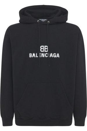 Balenciaga Bb Pixel Cotton Hoodie