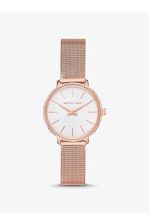 Michael Kors Uhren - MK Pavé-Armbanduhr Mini Pyper Im Rosé-Goldton