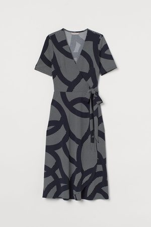 H&M Wickelkleid aus Jersey