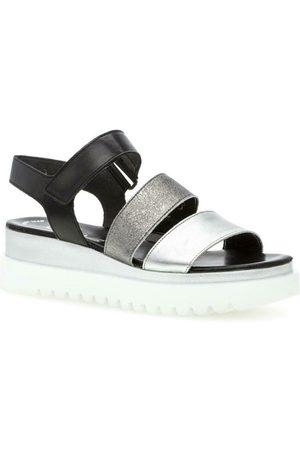Gabor Silber Casual Wedge Sandals , Damen, Größe: 41