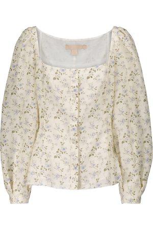 BROCK COLLECTION Bluse aus Leinen und Baumwolle