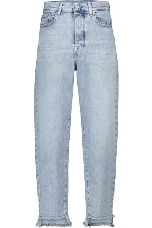 7 for all Mankind High-Rise Tapered Jeans Dylan
