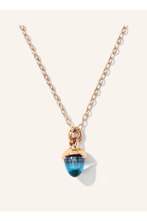 TAMARA COMOLLI Unsere my MIKADO Halskette Topas in 18 Karat Rosé weckt die Leidenschaft für farbenfrohe Edelsteine. Inspiriert von der Lieblingsfarbe, vom Geburtsstein oder der Augenfarbe schmeichelnd, sind diese zauberhaften Mini-Versionen der Edelsteine