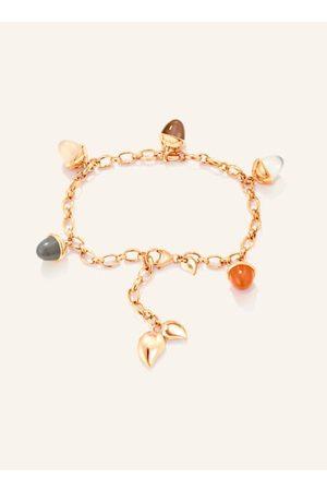 TAMARA COMOLLI Unser MIKADO FLAMENCO Charm Armband Cashmere lässt wertige Edelsteine verspielt tanzen. Das handgemachte massive Goldarmband umfasst 5 hochwertige Edelsteine in Kegelform. Unsere typischen Tropfenelemente sind ein Eyecatcher. Stufenlos läss