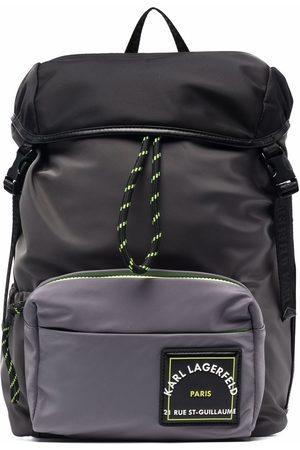 Karl Lagerfeld Rucksack mit Logo-Patch