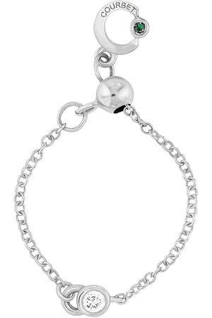 COURBET Damen Halsketten - 18kt Weißgoldhalskette
