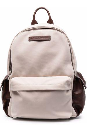 Brunello Cucinelli Herren Rucksäcke - Rucksack mit mehreren Taschen