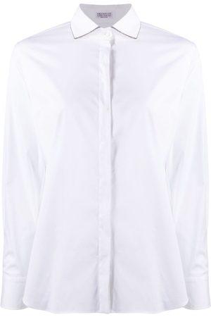 Brunello Cucinelli Damen Blusen - Hemd mit Ketten