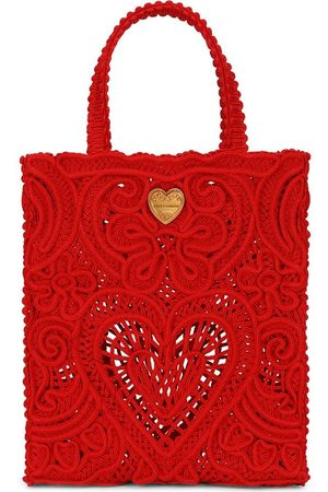 Dolce & Gabbana Small Beatrice crocheted tote bag