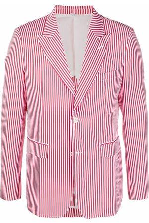 Comme Des Garçons Shirt Herren Blazer & Sakkos - Gestreiftes Oversized-Sakko