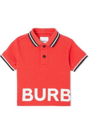 Burberry Poloshirt mit Logo-Print