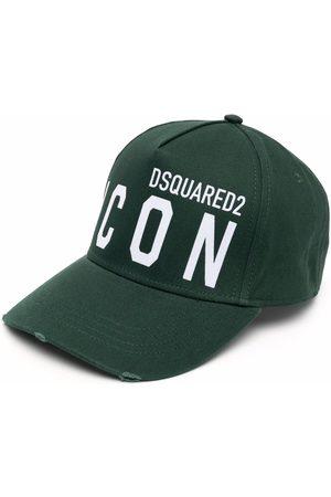 Dsquared2 Icon logo-embroidered cap