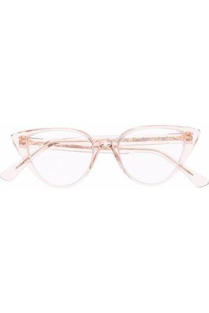 AHLEM Sonnenbrille mit Cat-Eye-Gestell