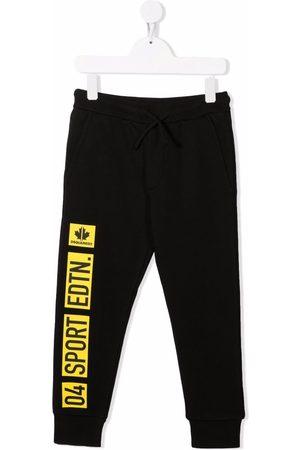 Dsquared2 Kids Jungen Lange Hosen - Jogginghose mit Logo