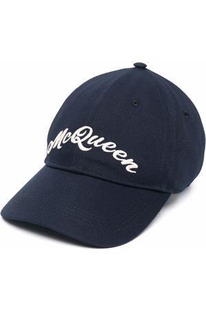 Alexander McQueen Herren Hüte - Baseballkappe mit Logo-Stickerei