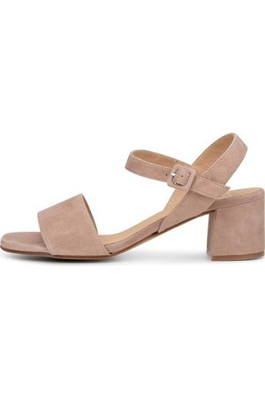 KMB Damen Sandalen - Sandale Ibacu in taupe, Sandalen für Damen