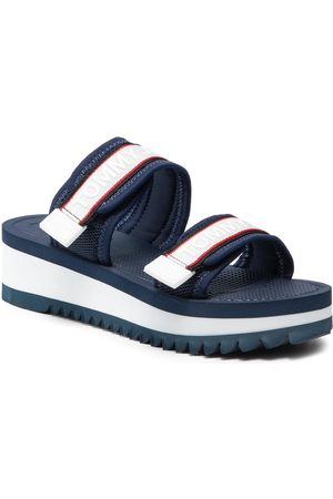 Tommy Hilfiger Color Pop Mule Sandal EN0EN01326 Twilight Navy C87