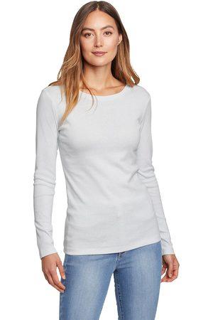 Eddie Bauer Damen Longsleeves - Favorite Shirt - Langarm mit Rundhalsausschnitt - uni Damen Gr. L