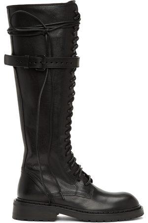 ANN DEMEULEMEESTER High Combat Boots