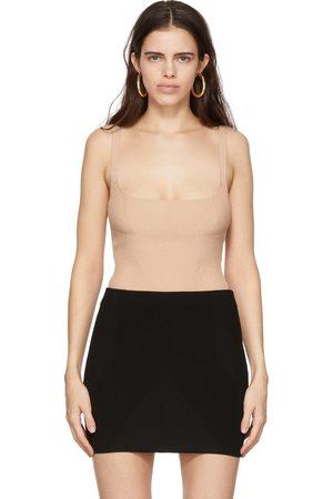 GAUGE81 Damen Bodys - Beige Arona Bodysuit