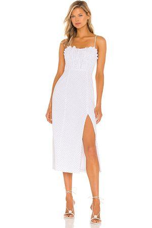 MAJORELLE Harper Midi Dress in . Size XXS, XS, S, M, XL.