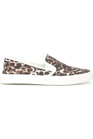 VERONICA BEARD Sneakers mit Leoparden-Print