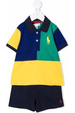 Ralph Lauren Colour-block polo tracksuit set
