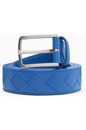 Bottega Veneta Herren Gürtel - Cobalt maxi woven belt
