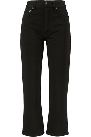 The Row Cropped Straight-Leg-Jeans 'Lesley