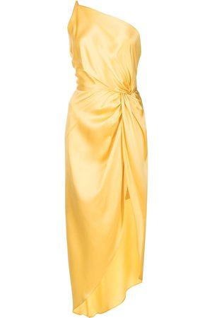 Michelle Mason Seidenkleid mit Knoten