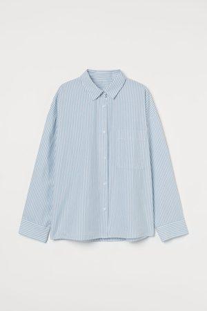 H&M Damen Schlafanzüge - Pyjama-Oberteil aus Baumwolle