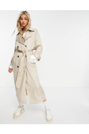Weekday – Cassidy – Trenchcoat in Creme