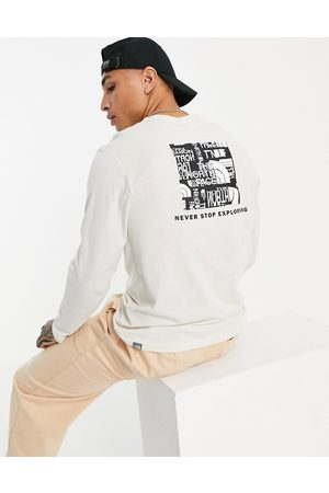 The North Face – Distorted – Langärmliges Shirt in mit Logo