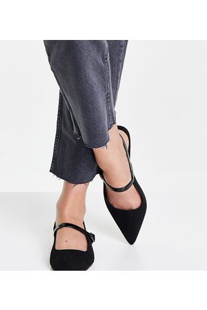 ASOS Wide Fit – Lewin – Spitze Mary-Jane-Schuhe in