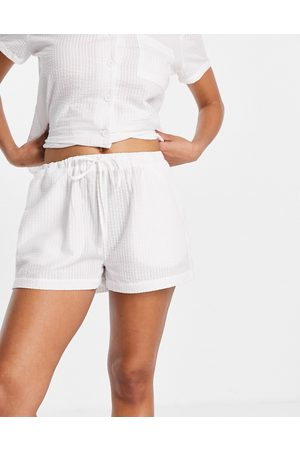Loungeable – Mix and Match – Seersucker-Pyjamashorts in