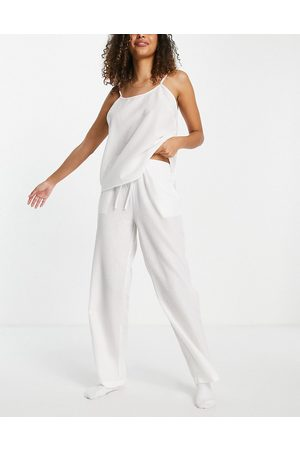 Loungeable – Mix and Match – Seersucker-Pyjamahose in