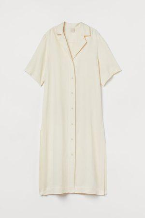 H&M Damen Maxikleider - Kleid aus Lyocellmix
