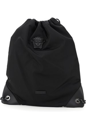 Versace Herren Rucksäcke - Medusa nylon backpack , Herren, Größe: One size