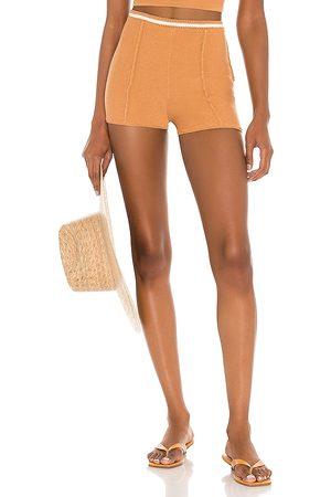Camila Coelho Claudine Crochet Shorts in . Size XS, S, M.